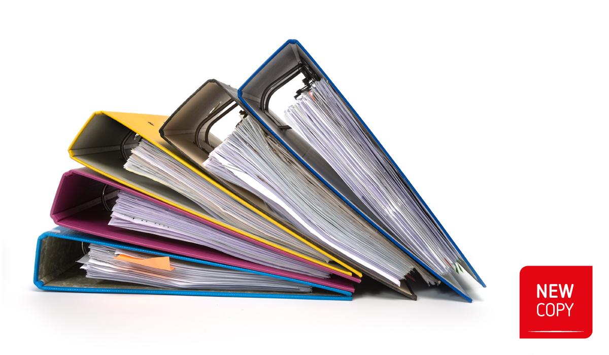 Copie classificatori / Raccoglitori